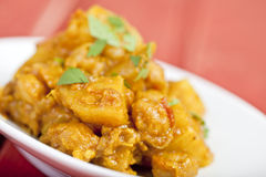 Curried potato Royalty Free Stock Photography