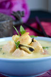 Curried seafood soup Royalty Free Stock Photos