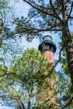 Currituck海滩灯塔 免版税图库摄影