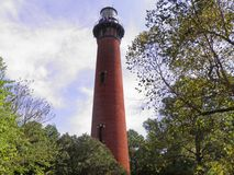 Currituck Beach Lighthouse Stock Photography