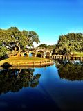 Currituck bridge Royalty Free Stock Photo