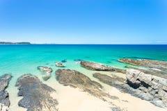 Currumbin aleja na Złocistym wybrzeżu w Queensland, Australia Obrazy Royalty Free
