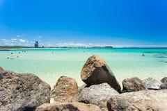 Currumbin aleja na Złocistym wybrzeżu w Queensland, Australia Obraz Royalty Free