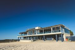Currumbin Beach Vikings Surf Life Saving Club royalty free stock photos