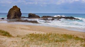 Currumbin Rocks. On Australias Gold Coast royalty free stock photos