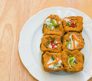 Curry ångad fisk royaltyfri fotografi