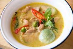 curry зеленый цвет стоковое фото rf