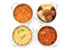Curry royaltyfria bilder