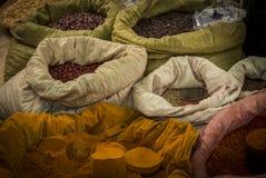 Curry ad un mercato locale Immagine Stock Libera da Diritti