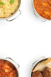Curry background Royalty Free Stock Images