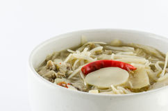 Curry bamboo shoots Royalty Free Stock Image