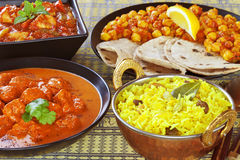 Curry Banquet Stock Images