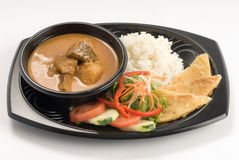 Curry beef stew Royalty Free Stock Photos