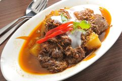 Curry Beef Stock Images