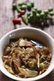 Curry caldo e piccante della carne del cinghiale Immagini Stock