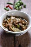 Curry caliente y picante de la carne del jabalí Imágenes de archivo libres de regalías