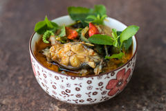 Curry catfish on rust. Stock Photography