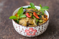 Curry catfish on rust. Stock Images