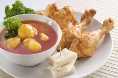 Curry chicken Royalty Free Stock Images