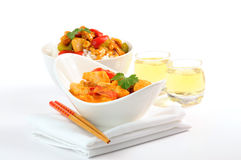 Curry Chicken Stock Photography
