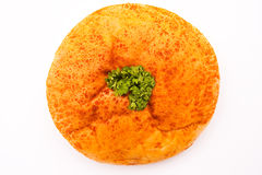 Curry chicken bun Royalty Free Stock Photography