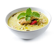 Curry Chicken Intense soup Stock Images