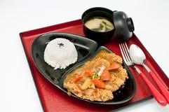 Curry Chicken Teriyaki Stock Photo