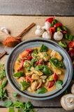 Curry chicken vegetable fresh food Royalty Free Stock Images