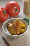 Curry Chicken wings Stock Images