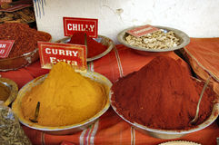 Curry and chilly Royalty Free Stock Photography