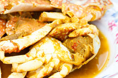 Curry crab Royalty Free Stock Photography