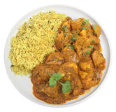 Curry de Bengala del pollo Imagen de archivo