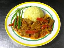 Curry de cordero Imagen de archivo