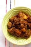 Curry de cordero picante delicioso fotografía de archivo libre de regalías