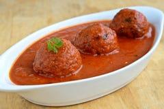 Curry de Kofta del indio Imagenes de archivo