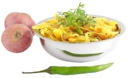 Curry de la cebolla Fotografía de archivo libre de regalías