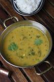 Curry de la harina del garbanzo Fotografía de archivo