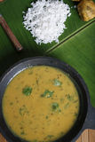 Curry de la harina del garbanzo Fotos de archivo