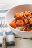 Curry de la patata dulce Fotos de archivo