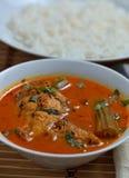 Curry de los pescados de la broma de Trevally Foto de archivo libre de regalías