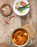 Curry de Massaman de la carne de vaca Fotografía de archivo libre de regalías