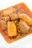 Curry de Massaman del pollo Foto de archivo libre de regalías