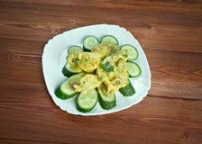 Curry de porc aux concombres Royalty Free Stock Photo