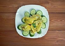 Curry de porc aux concombres Royalty Free Stock Photography