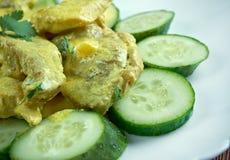 Curry de porc aux concombres Royalty Free Stock Photos