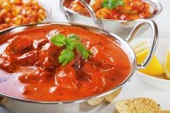 Curry de Rogan Josh foto de archivo