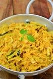 Curry del cavolo Fotografia Stock