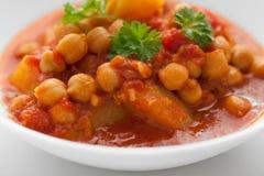 Curry del cece Immagine Stock