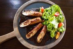 curry del cerdo con la miel y el tomate Fotografía de archivo libre de regalías