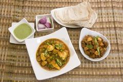 Curry del fungo Immagini Stock Libere da Diritti